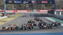 F3 Asia 2020, Buriram: la partenza di gara-1