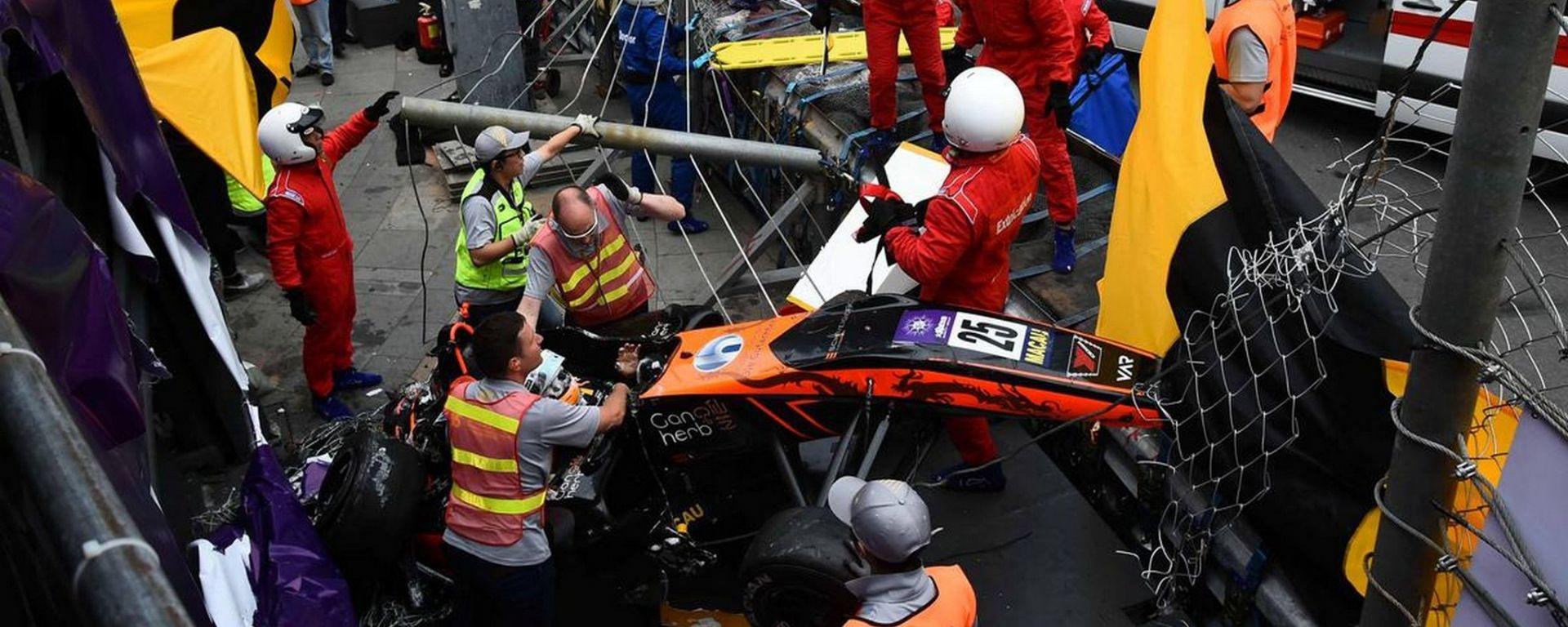 GP Macao, incidente per Sophia Floersch. Le ultime news