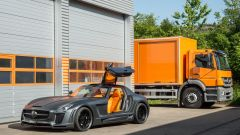 FAB Design Mercedes-Benz SLS Gullstream Coupe: il frontale