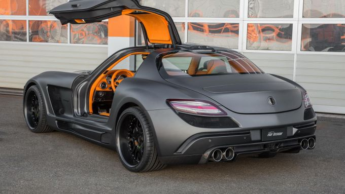 FAB Design Mercedes-Benz SLS Gullstream Coupe