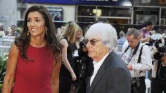 Fabiana Flosi e Bernie Ecclestone