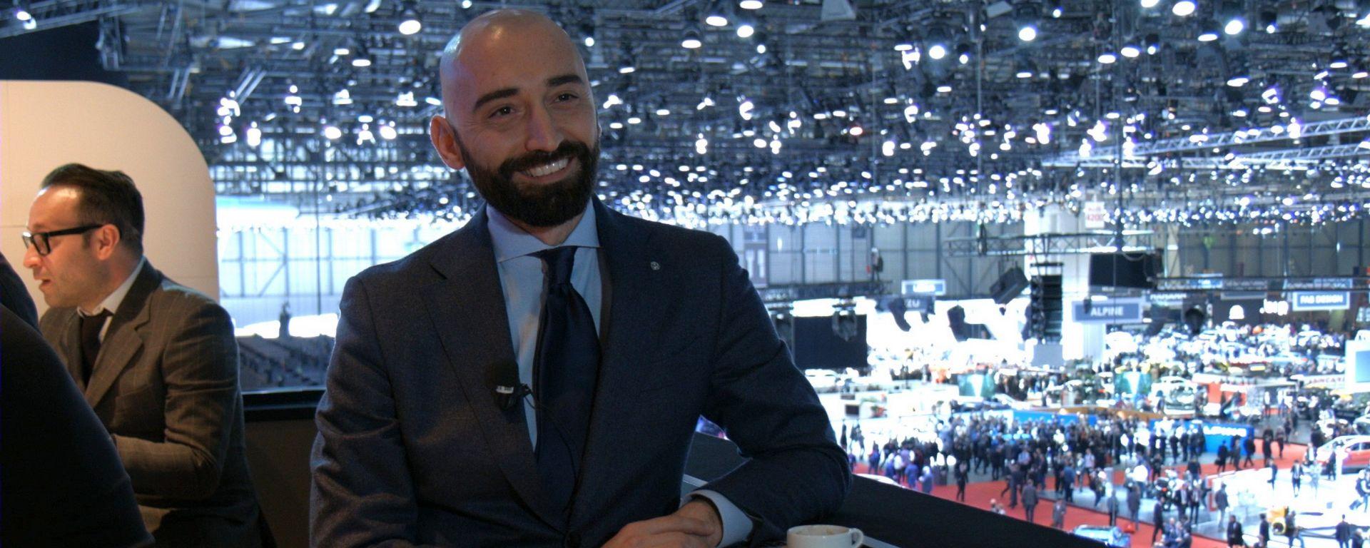 Fabio di Luigi, Direttore Marketing Volkswagen, Salone di Ginevra 2017, intervista