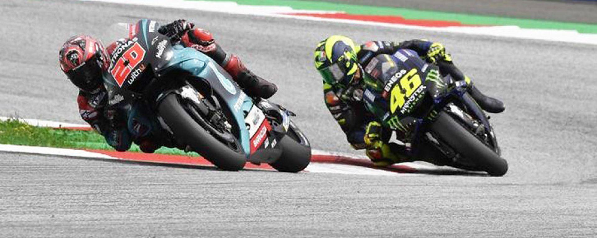 Fabio Quartararo e Valentino Rossi, Yamaha