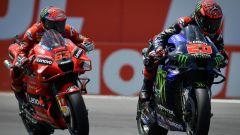 MotoGP 2021: la classifica piloti e costruttori
