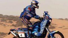 Fabrizio Meoni in sella alla sua KTM