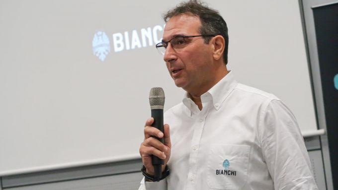 Fabrizio Scalzotto, CEO di Bianchi