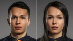 FaceApp, da Alex ad Alexandra Albon (Red Bull)