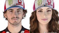 FaceApp, da Francesco a Francesca Bagnaia (Ducati)
