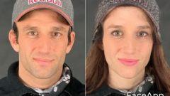 FaceApp, da Johann a Joanna Zarco (Ducati)