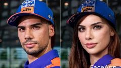 FaceApp, da Miguel a Michaela Oliveira  (KTM)