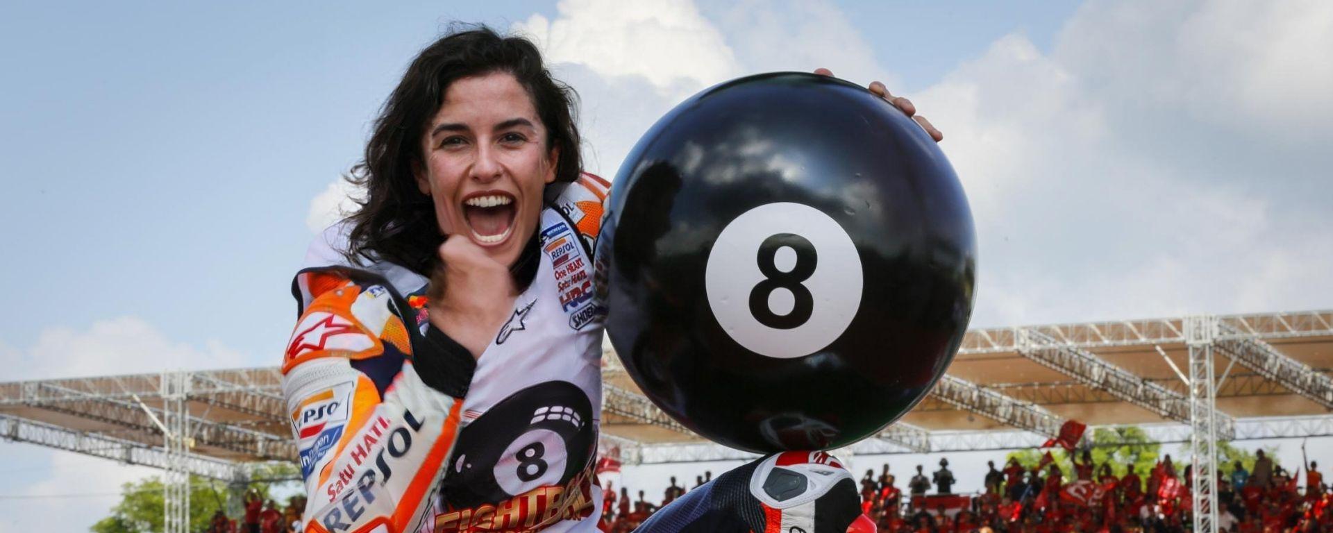 FaceApp, e se Marcolina Marquez avesse vinto nel 2019 il suo ottavo mondiale?