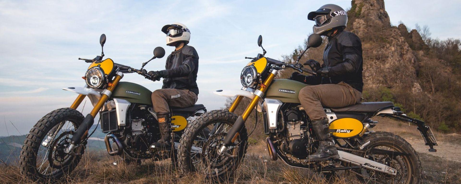 """Fantic Motor riparte con Caballero 500 Anniversary e """"Click&Ride"""""""