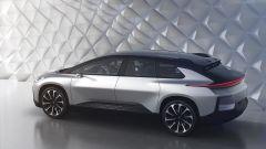 Faraday Future FF 91: l'anti Tesla debutta a Las Vegas [VIDEO] - Immagine: 13