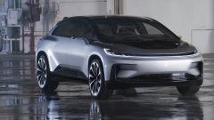 Faraday Future FF 91: l'anti Tesla debutta a Las Vegas [VIDEO] - Immagine: 1