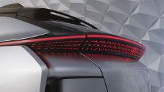 Faraday Future FF 91, le luci di coda