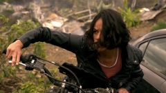 Fast & Furious 9, Michelle Rodriguez in moto