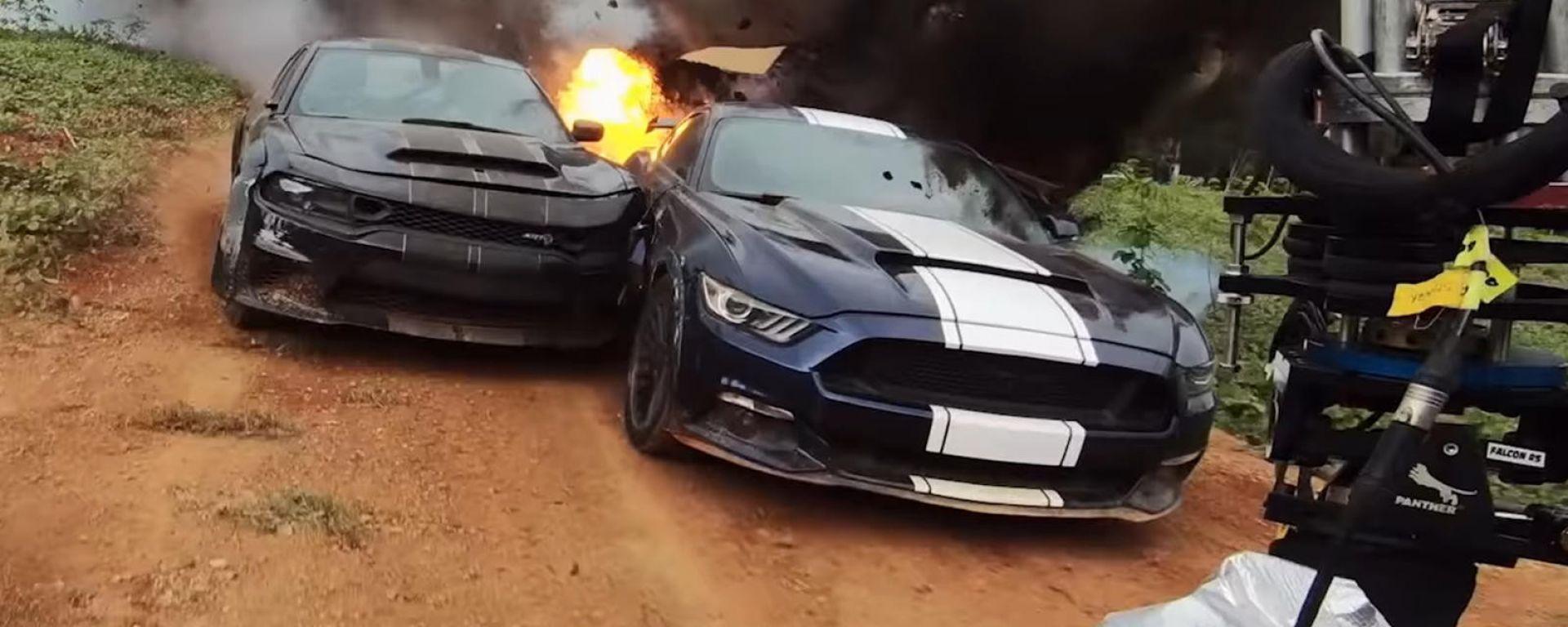 Fast & Furious 9 - The Fast Saga: un momento delle riprese
