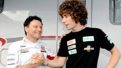Fausto Gresini e Marco Simoncelli