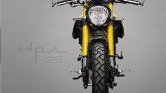 F.B Mondial HPS 125: anche la forcella ha subito modifiche col modello 2021
