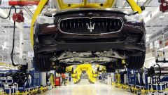 FCA, allarme Fiom su calo produzione Maserati a Grugliasco e Mirafiori