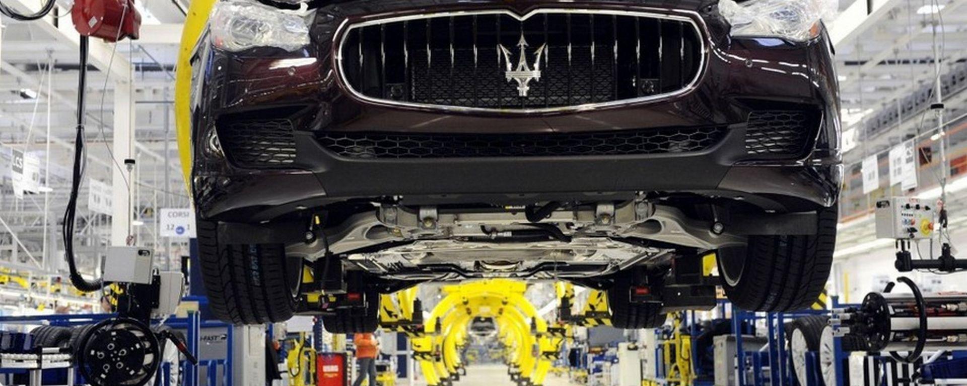 Gruppo FCA, Maserati e il polo del lusso torinese in calo