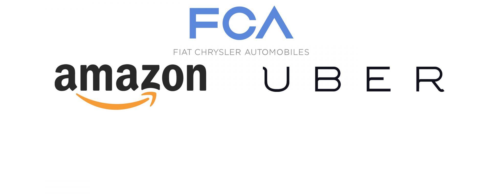 FCA sarebbe in trattativa con Amazon e Uber per l'auto a guida autonoma