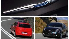 Fiat Punto, Alfa Romeo Mito, brand Chrysler: ecco cosa sparisce da FCA