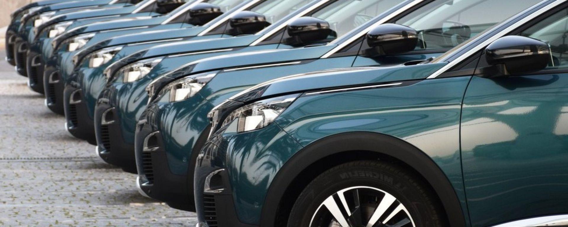 Febbraio 2021, vendite auto al -12,3%
