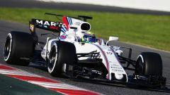Felipe Massa al volante della FW40 2017