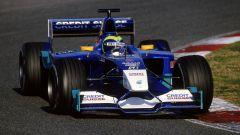 Felipe Massa con la Sauber C21 nella stagione 2002