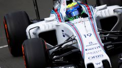 Felipe Massa con la sua Williams a Silverstone