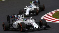 Felipe Massa - con la Williams FW38 assieme al team-mate Valtteri Bottas (2016)