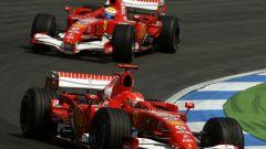 Felipe Massa - debutto in Ferrari nel 2006 come team-mate di Michael Schumacher