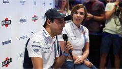 Felipe Massa e Claire Williams