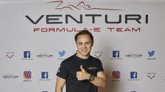 Felipe Massa in Formula E con il team Venturi Racing