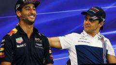 """Massa: """"Pensavo Ferrari avrebbe preso Ricciardo, non Sainz"""""""