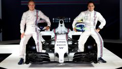 Felipe Massa inizia l'avventura in Williams 2014