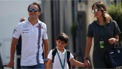 Felipe Massa insieme alla sua famiglia