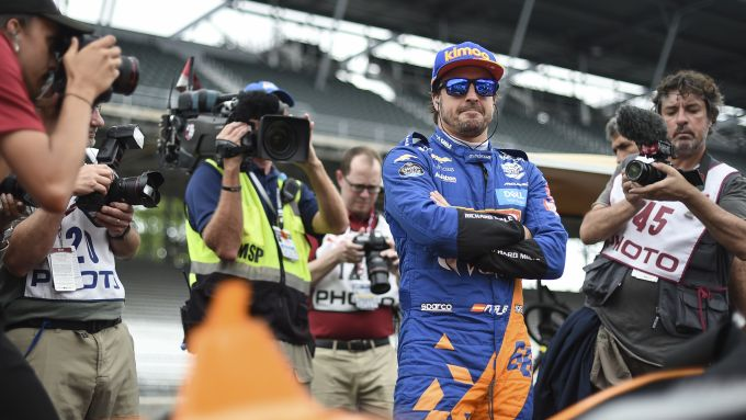Fernando Alonso ad Indianapolis