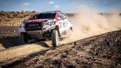 500 km di test per Alonso e Toyota con vista Dakar