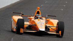Fernando Alonso impegnato nella Indy 500 nel 2017
