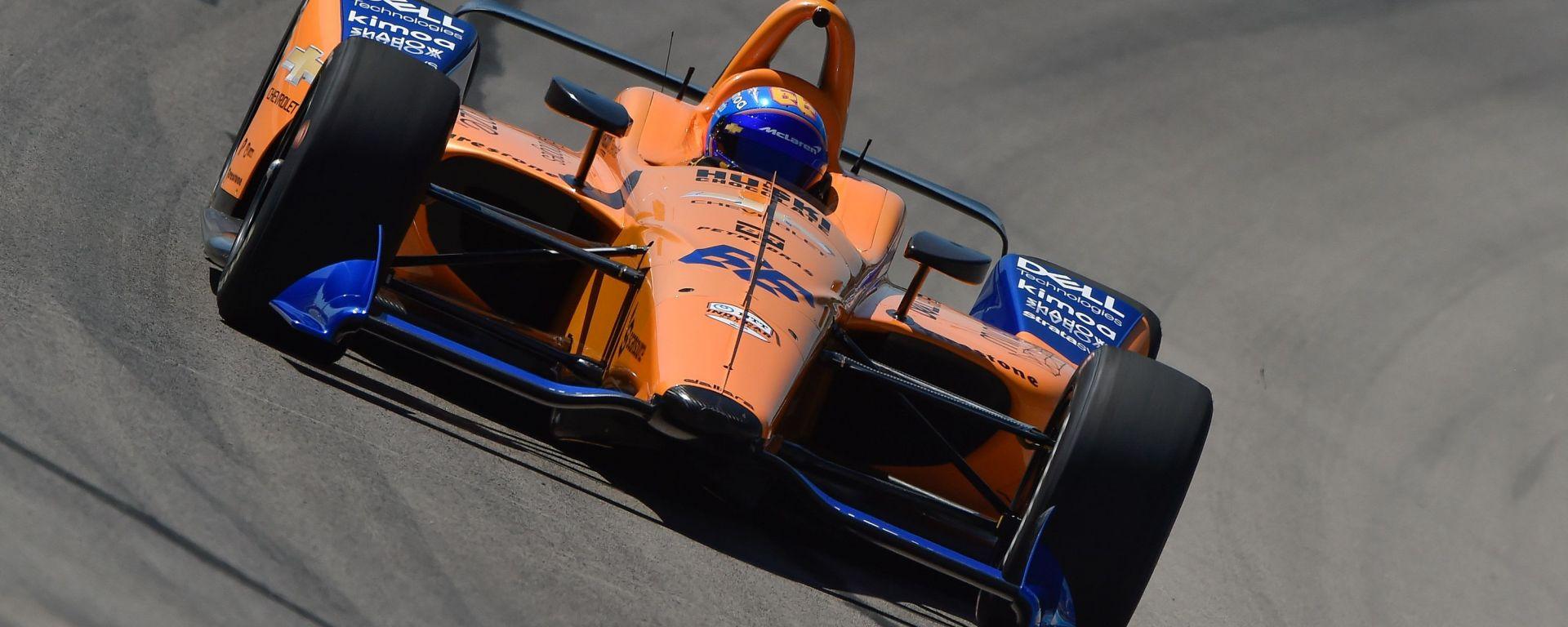 Fernando Alonso, l'avventura alla Indy500 comincia in salita