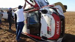 Fernando Alonso, le immagini dell'incidente alla Lichtenburg 400