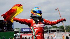Fernando Alonso - l'ultima vittoria di Fernando Alonso in Ferrari a Barcellona (2013)