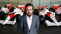 Fernando Alonso, museo McLaren