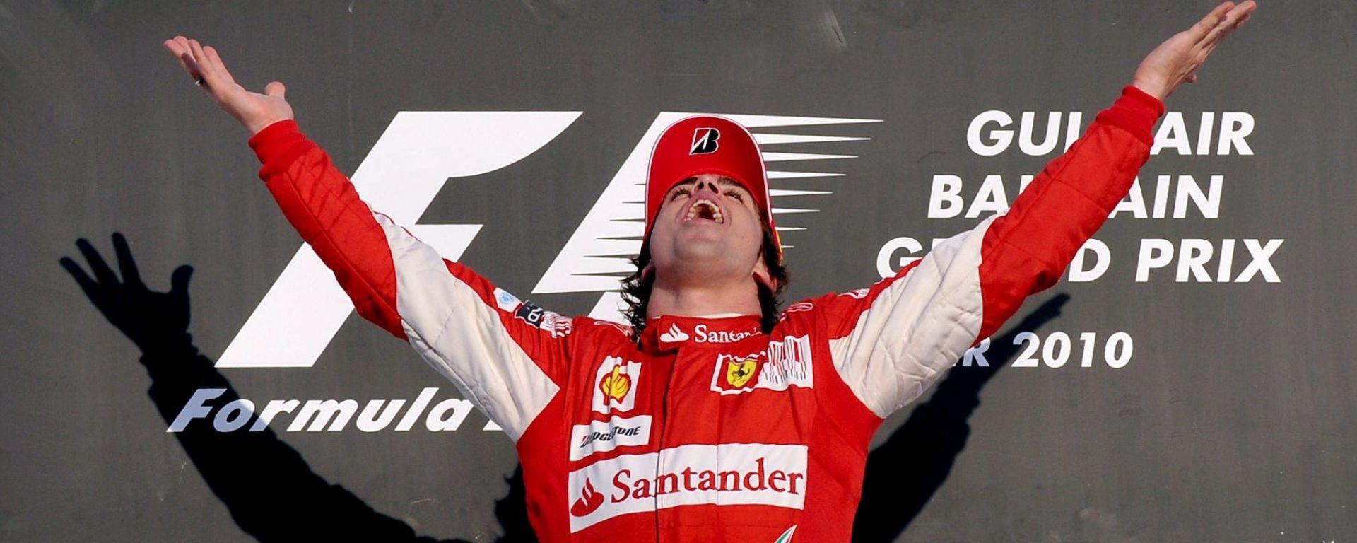 Fernando Alonso - Scuderia Ferrari, F1 2010