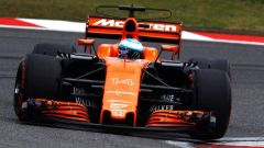 Fernando Alonso sulla MCL32