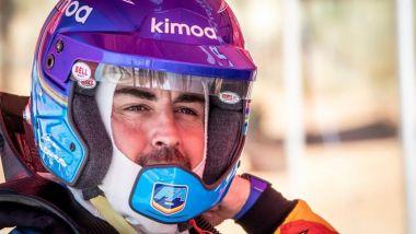 Fernando Alonso test Dakar in Sud Africa