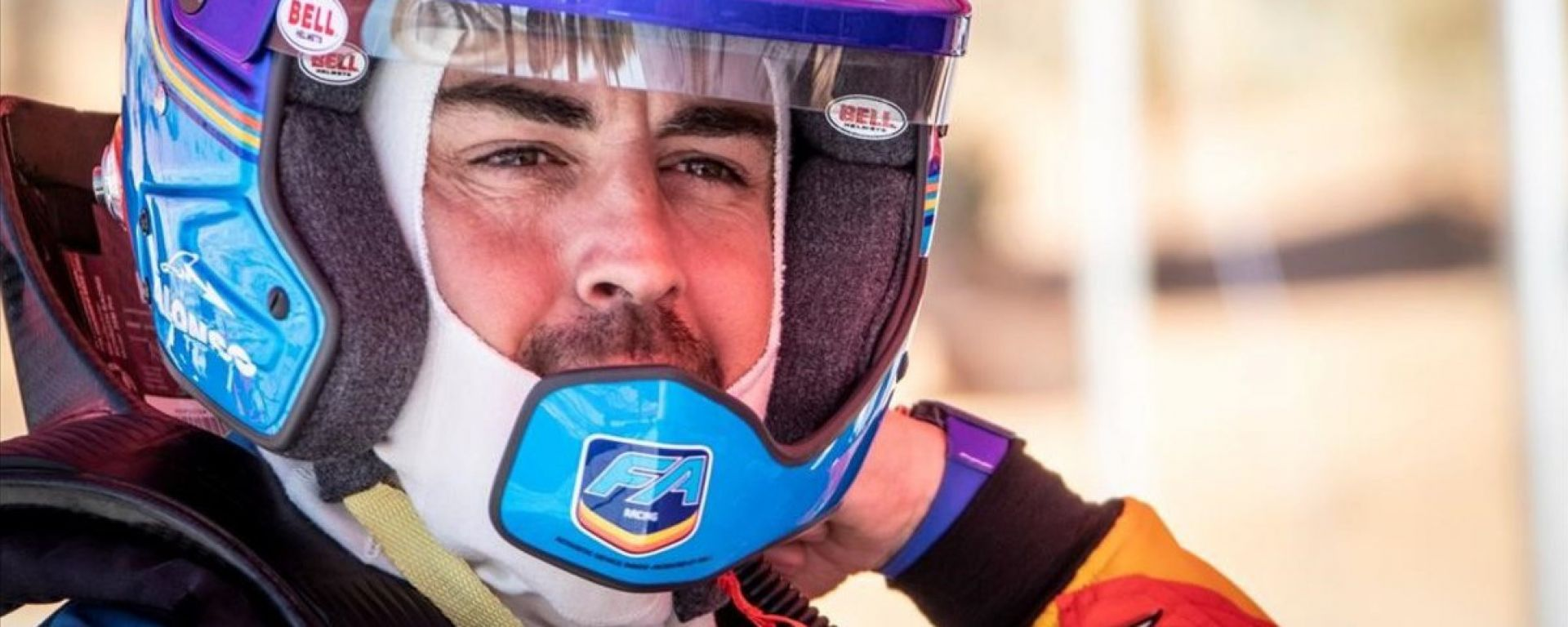Fernando Alonso test Dakar in Sud Africa