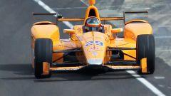 Fernando Alonso - test Indianapolis 2017, Formula Indy